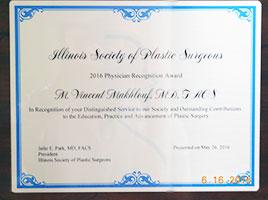 MVM Award from ISPS 2016